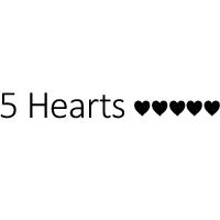 5 HEARTS DRESSES